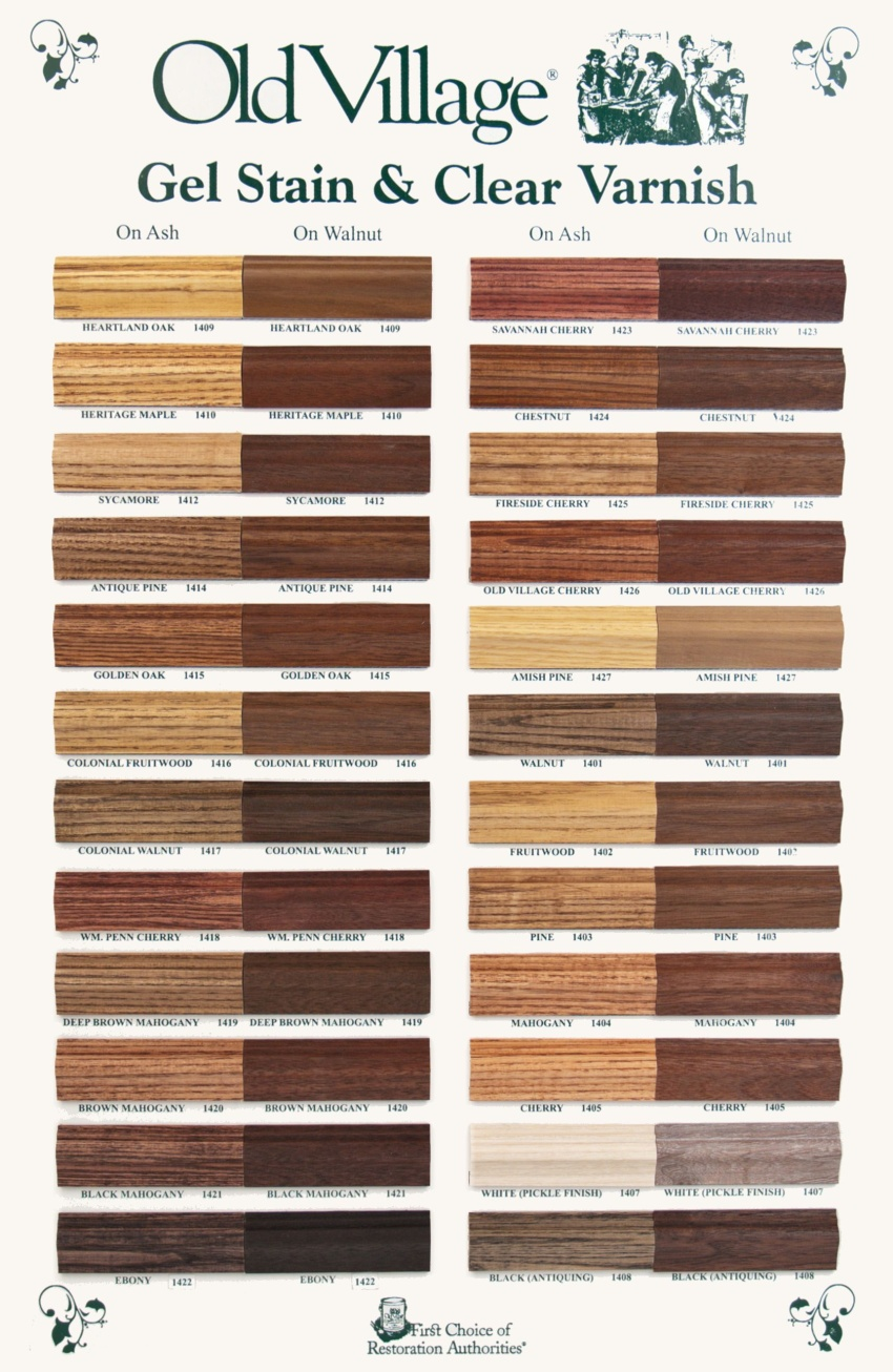 Woodwork Wood Varnish Colors Pdf Plans